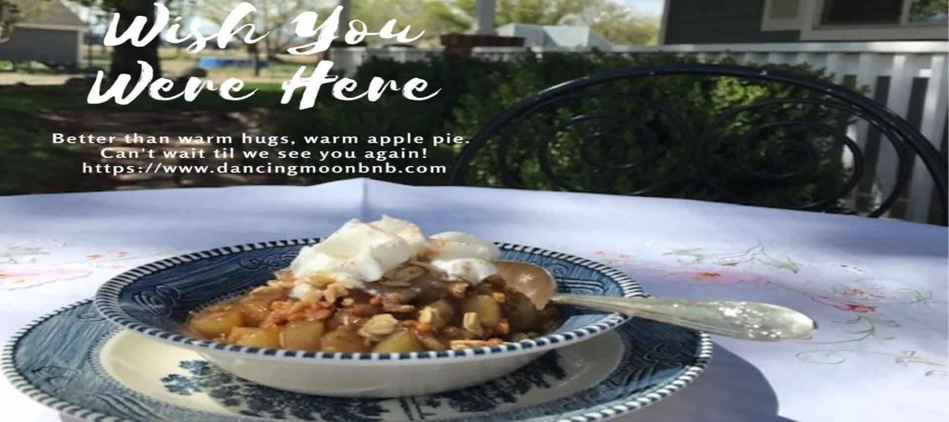 Pic of apple pie dessert