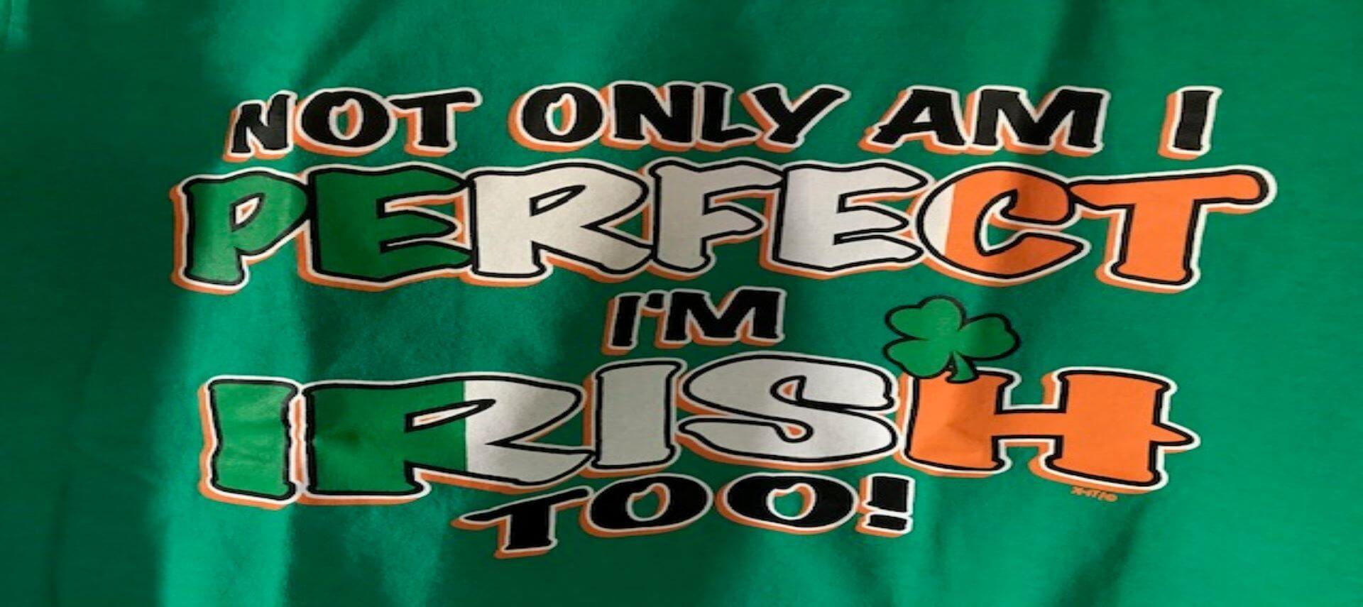 Irish and perfect quote
